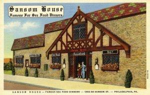 PA - Philadelphia. Sansom House Restaurant