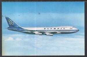 Boeing 747-200 B Jumbo Jet Olympic Airways BIN