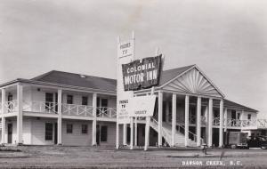 RP; DAWSON CREEK, British Columbia, Canada, 1920-1940s; Colonial Motor Inn