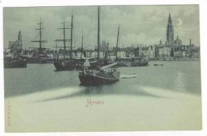 ANVERS, Belgium, Harbour, 1890s