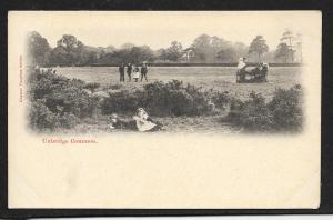 Uxbridge Common West London UK Children Unused c1910s