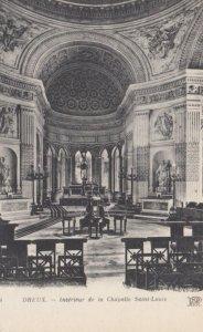 DREUX, France,1910-1920s, Interieur de la Chapelle Saint-Louis