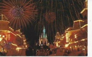 Postcard - FL - Florida Walt Disney World Fantasy Fireworks Show Unposted