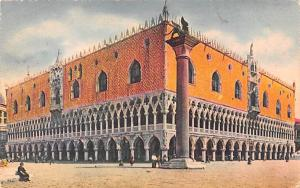 Italy Old Vintage Antique Post Card Venezia Palais Dusal 1911