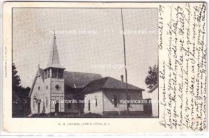 M.E. Church, Little Utica, NY