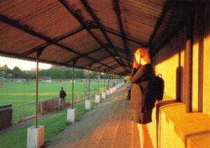 Non-League Football Ground Postcard, Horsham FC, Queen Street, Sussex