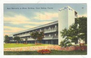 New University Of Miami Building, Coral Gables, Florida, PU-1950