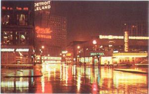 Greyhound Bus & Airlines Terminal Downtown Detroit Michigan