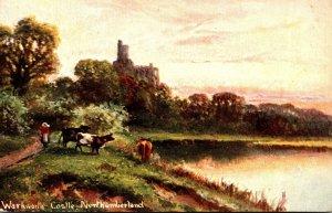 England Morthumberland Warkworth Castle