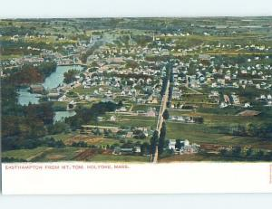 Unused Divided-Back AERIAL VIEW Holyoke Massachusetts MA A4876