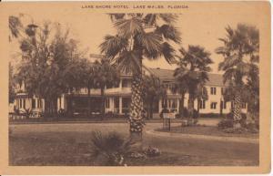 Lake Wales FL - Lake Shore Hotel, renamed Plantation Inn.  burned 1979. 1950s