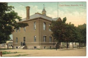 KENTVILLE , Nova Scotia , Canada , PU-1907 : Court House