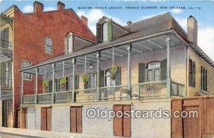 Madame John's Legacy, French Quarters New Orleans, LA, USA Unused