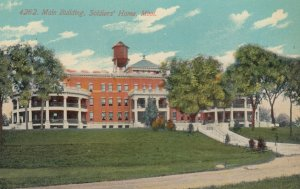 MINNEAPOLIS, Minnesota, 1900-10s; Main Building, Soldiers' Home