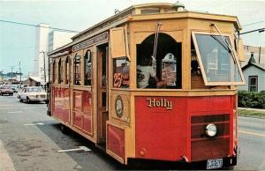 VA, Virginia Beach, Trolley Bus, Rowe Distributing No. 164889
