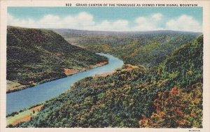 Grand Canyon Of The Tennessee As Viewed From Signal Mountain Ashville North C...