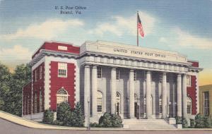 U. S. Post Office, BRISTOL, Virginia, 30-40s