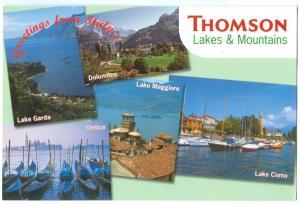 Greetings from Italy, Thomson Lakes & Mountains, Lake Garda, Lake Como