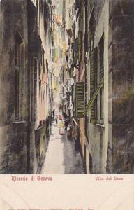 Vico Del Duca, Ricordo Di Genova (Liguria), Italy, 1900-1910s