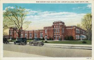 New Senior High School And Junior College, FORT SMITH, Arkansas, 1930-1940s