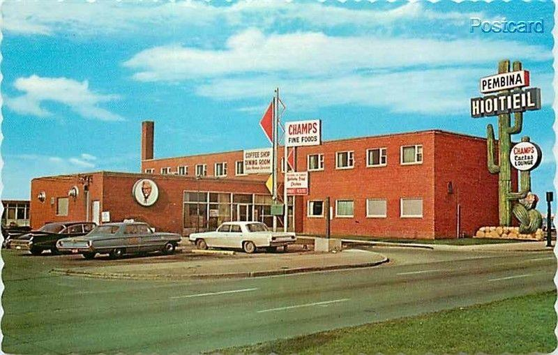Canada, Manitoba, Winnipeg, Fort Garry, Pembina Hotel and Motel, Dexter Color