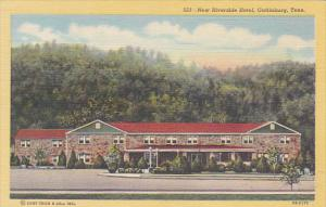Tennessee Gatlinburg New Riverside Hotel Curteich