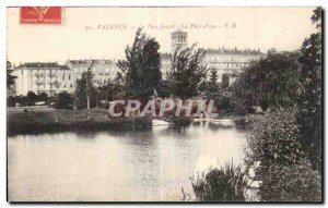 Old Postcard Valencia Park Jouvet The water room