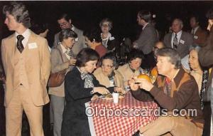 Postcard President & Mrs. Carter BBQ Dinner
