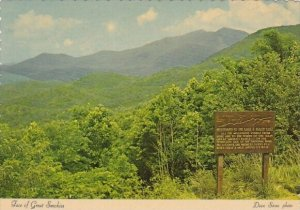 Face Of Great Smoky Mountains Tennessee