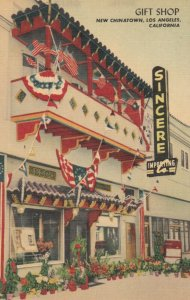 LOS ANGELES , California , 1930-40s ; SINCERE Importing Gift Shop , Chinatown