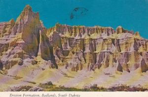 South Dakota Badlands National Park Erosion Formation 1977