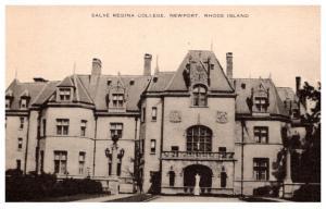 Rhode Island  Newport , Salve Regina College