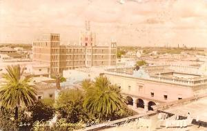 Mexico Old Vintage Antique Post Card Vista Paricoul de Monterrey 1936