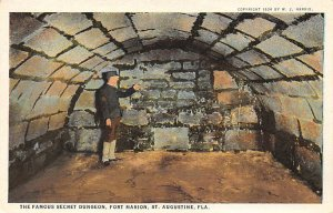 Fort Marion Famous Secret Dungeon St Augustine FL