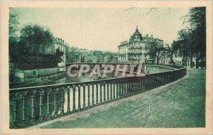 Old Postcard Verdun Promenade de la Digue