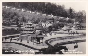 RP, Battle For Castle Of Nagoya, Bernheimer, Japanese Garden, California, 20-40s