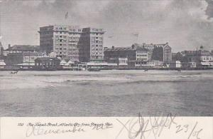 New Jersey Atlantic City From Young's Pier The Beach Front 1906