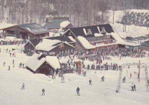 ORFORD , Quebec, Canada, 60-80s ; Skiing #2