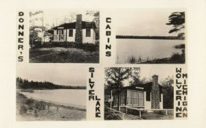 RP: WOLVERINE , Michigan , 1930-40s ; Silver Lake , Donner's Cabins