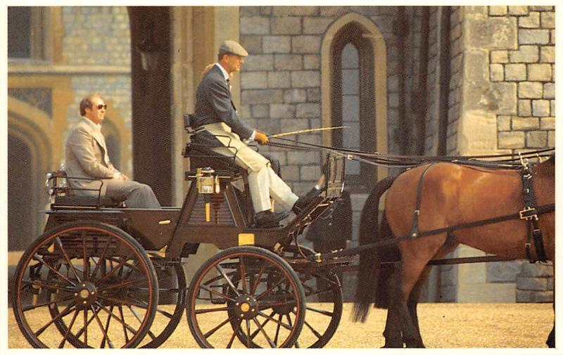 Nancy Beagan Rides with Prince Philip at Windsor