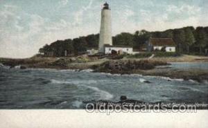 New Haven, Conn USA Lighthouse, Lighthouses Postcard Postcards  New Haven, Conn