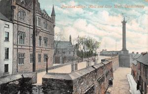 Prentice Boys Hall and City Wall Londonderry 1910