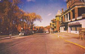 DRUMMONDVILLE , Quebec, Canada, 50-60s ; Rue Heriot Street
