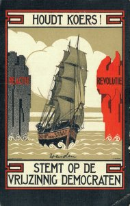 Netherlands Houdt Koers! Stemt op de Vrijzinnig Democraten Advertising 06.13