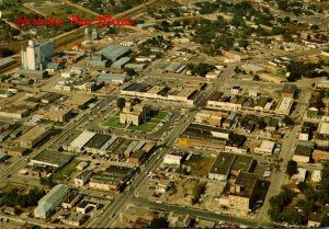 New Mexico Portales Aerial View Of The Home Town Of Eastern New Mexico Univer...