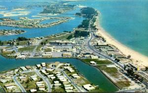 Florida Treasure Island Aerial View 1963