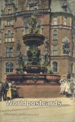 Jubilaumsbrunnen Elberfeld Germany 1908