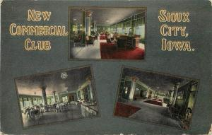 Vintage Multi-View PC New Commercial Club, Sioux City IA Philanthropic Fraternal