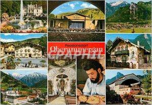Postcard Modern Passionsdorf Oberammergau