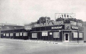 Portland Maine Valle's Steak House Vintage Postcard AA35265